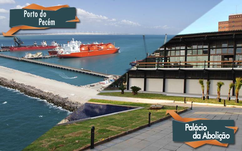 Participe das visitas ao Porto do Pecém e Palácio da Abolição