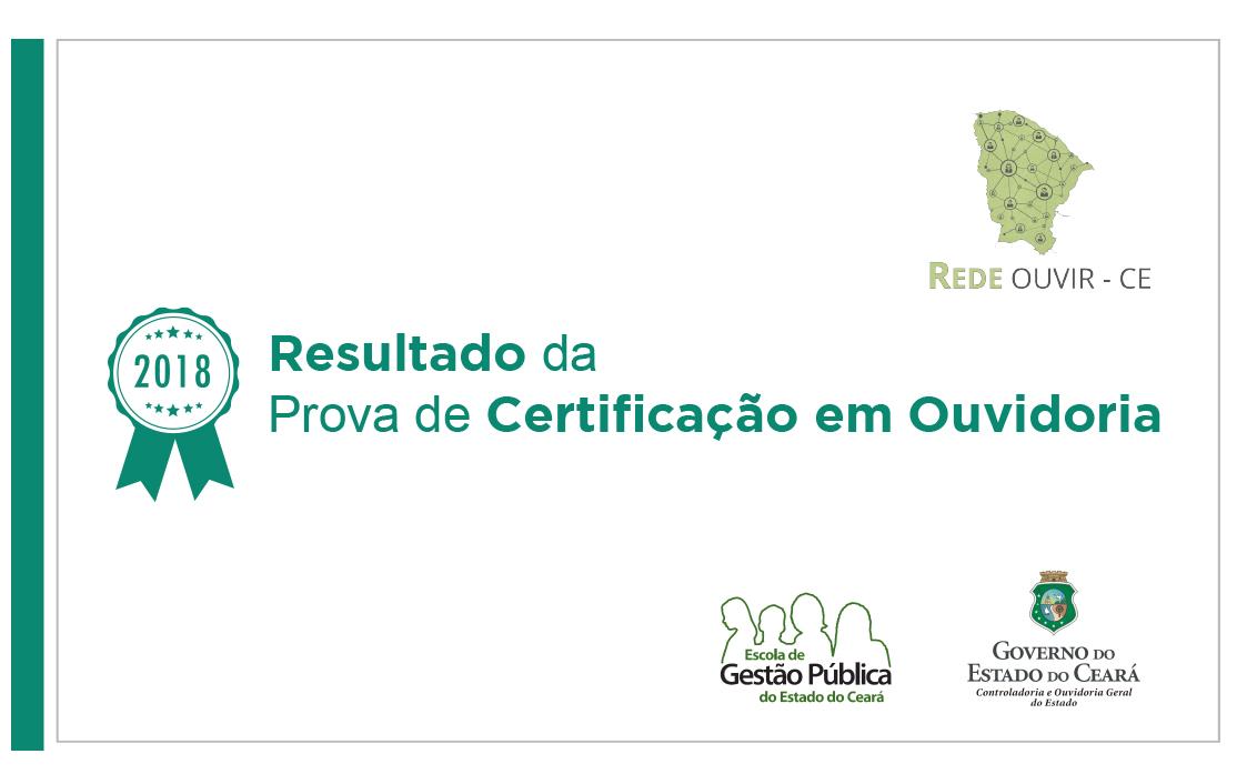 CGE divulga resultado da Certificação em Ouvidoria da Rede Ouvir Ceará