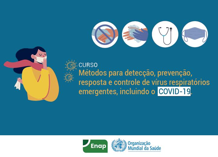 Enap e OMS disponibilizam curso gratuito e online sobre coronavírus