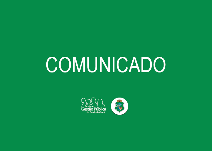 Escola de Gestão Pública suspende cursos presenciais