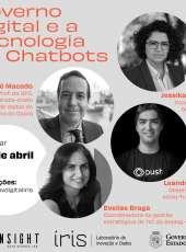 #ÍrisLabGov – Governo Digital e a Tecnologia de Chatbots
