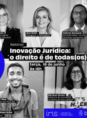 #IrisLabGov – Inovação jurídica: o direito é de todas(os)