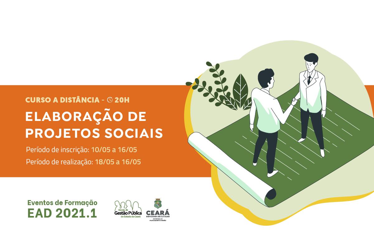 EGPCE abre inscrições para o curso Elaboração de Projetos Sociais