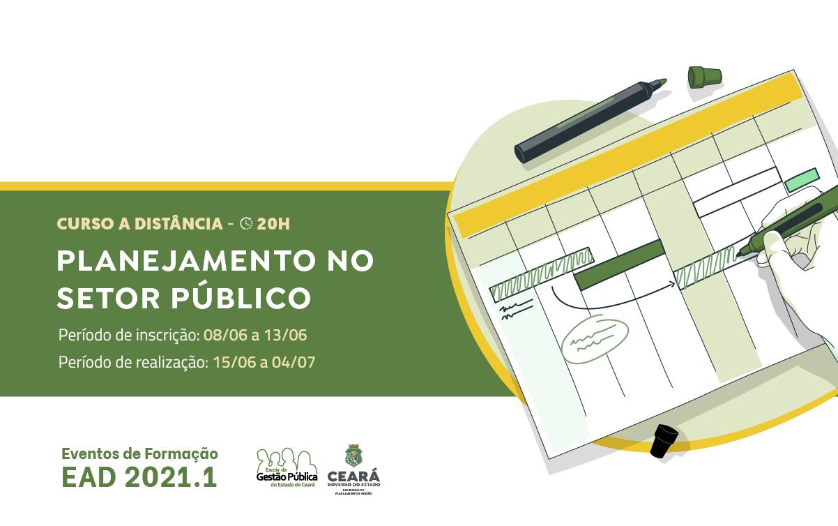 EGPCE oferece o curso Planejamento no Setor Público