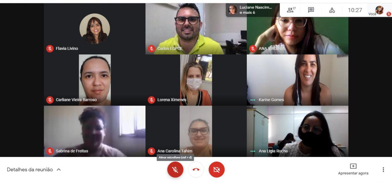 EGPCE realiza treinamento do sistema Geradoc para os seus colaboradores